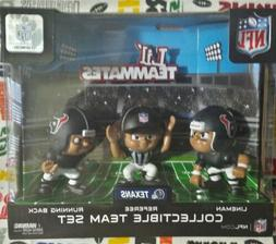 NFL Lil' Teammates 3-piece Houston Texans Tm set  3-inch