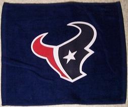 NFL Rally Fan Towel Houston Texans NEW Golf Crying Hand 100%