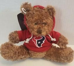 nfl talking plush hoodie bear houston texans
