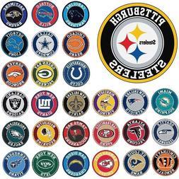 """NFL Teams - 27"""" Roundel Area Rug Floor Mat - Wall Decor - Ch"""