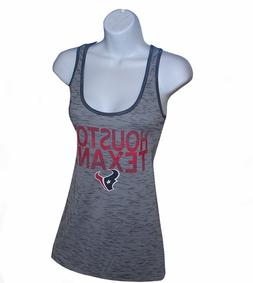 Nfl Womens Apparel - Houston Texans Ladies RacerBack NFL Tea