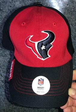 nwt houston texans black and red hat