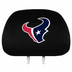 Pair of Houston Texans Head Rest Covers - NEW! Truck Car Aut