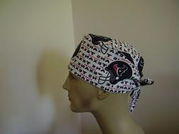 Surgical Scrub Hat/ Cap -NFL-HOUSTON TEXANS - One size- Hand