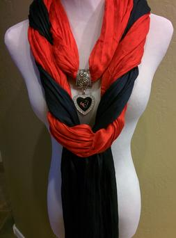 The Ultimate Houston Texans  Licensed  Jewelry Scarf Combo