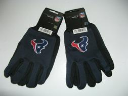 TWO  PAIR OF HOUSTON TEXANS SPORT UTILITY GLOVES FROM FOREVE