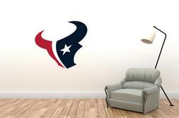 Wall Decal Houston Texans - NFL Decor Vinyl Art Mural Sport
