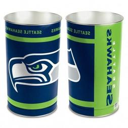 wastebasket trash cans one piece football seattle