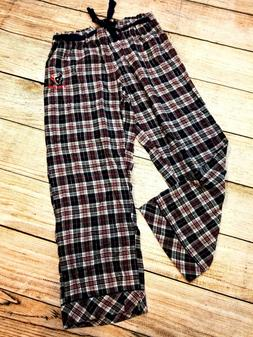 Women's NFL Brand Houston Texans Printed Plaid Pajama Pants-