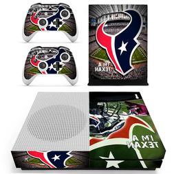 xbox one s houston texans vinyl protector